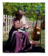 Play A Song For Me Fleece Blanket