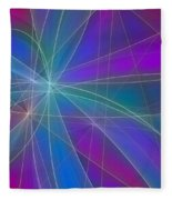 Play Of Colours Fleece Blanket