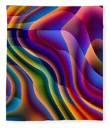 Play With Colours Fleece Blanket