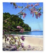 Playa Espadillia Sur Manuel Antonio National Park Costa Rica Fleece Blanket