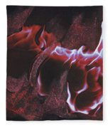 Playing With Fire 2 By Jrr Fleece Blanket