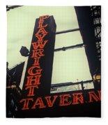 Playwright Tavern Fleece Blanket
