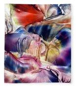 Pleiades Above Fleece Blanket