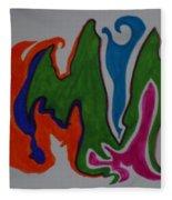 Pleiades Fleece Blanket