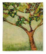 Plein Air Garden Series No 8 Fleece Blanket