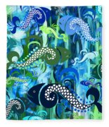 Plenty Of Fish In The Sea 1 Fleece Blanket