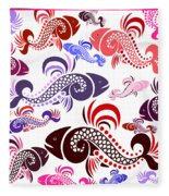 Plenty Of Fish In The Sea 6 Fleece Blanket