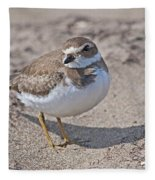 Plover Lover.. Fleece Blanket