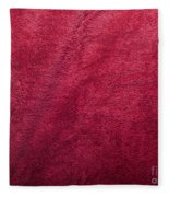 Plush Red Texture Fleece Blanket