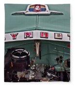 Plymouth Hood Fleece Blanket