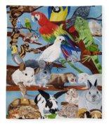 Pocket Pets Fleece Blanket