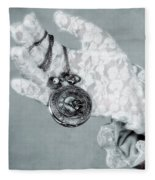 Pocket Watch Fleece Blanket