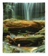 Poconos Cascades Fleece Blanket