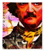 Poe Industries Steampunk Machines Patent Pending 20140518 Square V3 Fleece Blanket