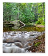 Poetic Side Of Nature Fleece Blanket
