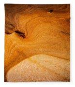 Point Lobos Abstract 8 Fleece Blanket
