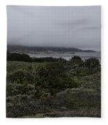 Point Lobos National Park Fleece Blanket