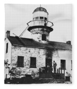 Point Loma Lighthouse Fleece Blanket