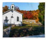 Point Mountain Community Church - Wv Fleece Blanket