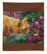 Point Of Interest Fleece Blanket