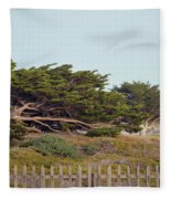 Point Pinos Lighthouse Pacific Grove California Fleece Blanket