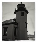 Point Robinson Lighthouse 2 Fleece Blanket