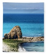 Pointe Du Hoc Fleece Blanket