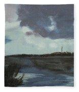 Pointe Aux Chein Blue Skies Fleece Blanket