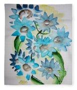 Pointy Petals Fleece Blanket