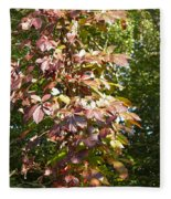Poisin Oak Fleece Blanket