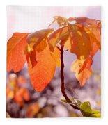 Poison Ivy Beauty Fleece Blanket
