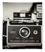 Polaroid Countdown 90 Fleece Blanket