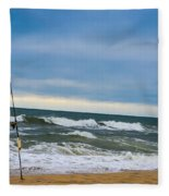 Poles Apart  Fleece Blanket