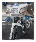 Police Honda Fleece Blanket