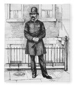 Policeman, C1885 Fleece Blanket