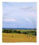Polish Field Fleece Blanket