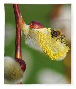Pollen Feast Fleece Blanket