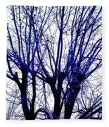 Vessels Of Blue Fleece Blanket