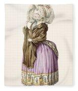 Polonoise, Engraved By Voysard, Plate Fleece Blanket