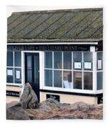 Polpeor Cafe The Lizard Point Fleece Blanket