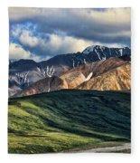 Polychrome Pass Fleece Blanket
