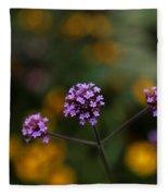 Pom Pom Plant Fleece Blanket
