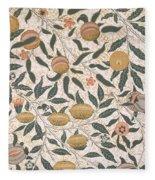 Pomegranate Design For Wallpaper Fleece Blanket