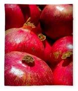Pomegranates Fleece Blanket