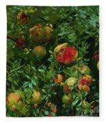 Pomegranates    Majorca Fleece Blanket
