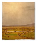 Pompton Plains. New Jersey Fleece Blanket