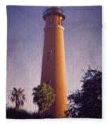 Ponce De Leon Lighthouse Fleece Blanket
