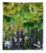 Pond 7 Fleece Blanket