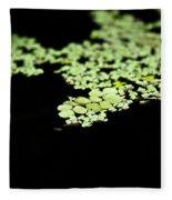 Pond Life Fleece Blanket