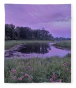 Pond Light Fleece Blanket